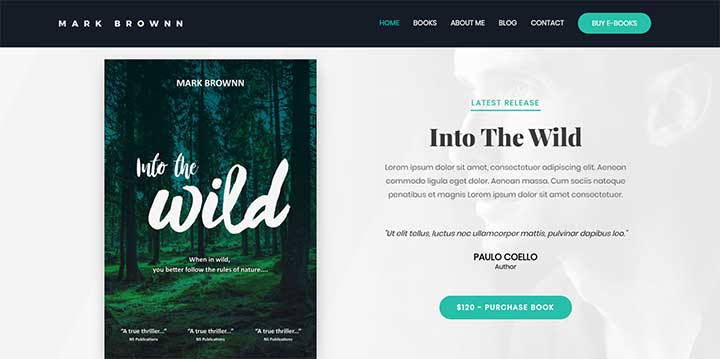 Astra Book Sales WP Theme