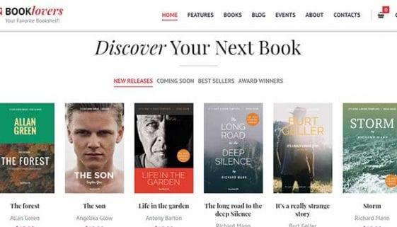 Bookstore WordPress Themes