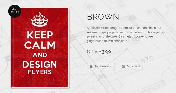 Brown bookstore wordpress themes