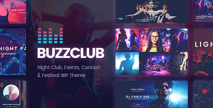 Buzz Club WordPress Theme