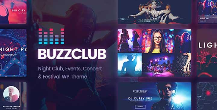 Buzz Club WordPress Theme