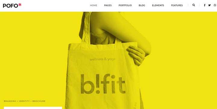 POFO Model Agency WordPress Theme