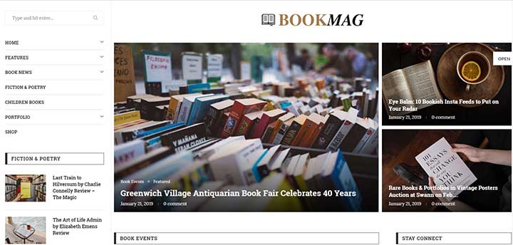 25 Bookstore Wordpress Themes Of 2020 For Online Print Ebook Sales