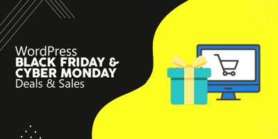 WordPress Black Friday Cyber Monday Deals