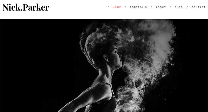 Shutter Model Agency WordPress Theme
