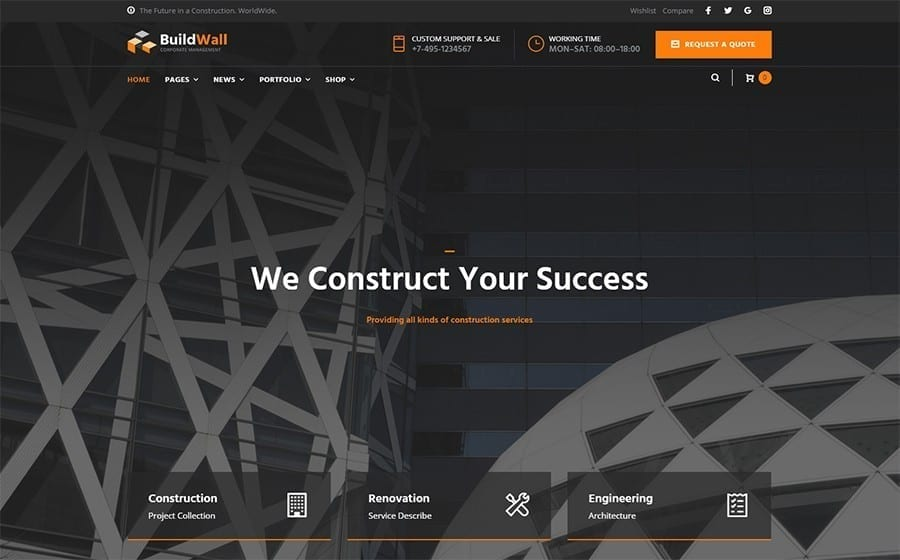 buildwall theme