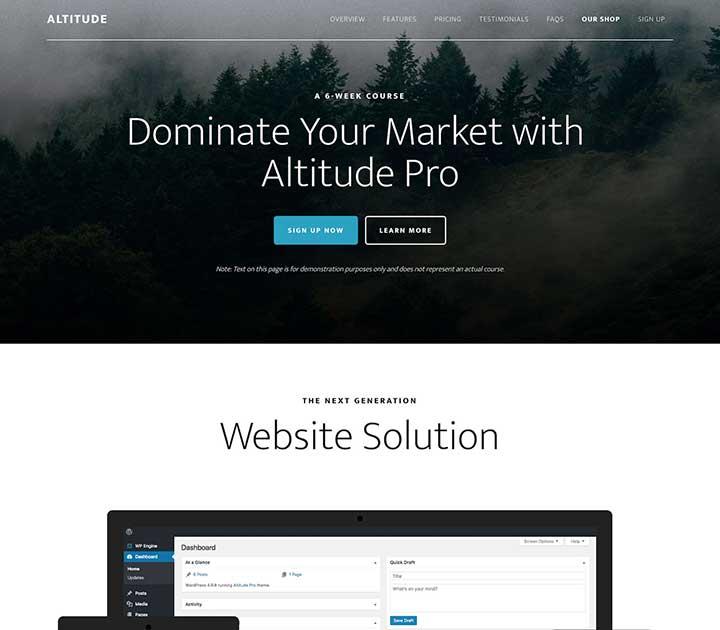 Altitude Pro Black Theme