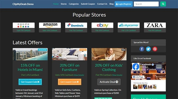 Clipmydeals-Theme