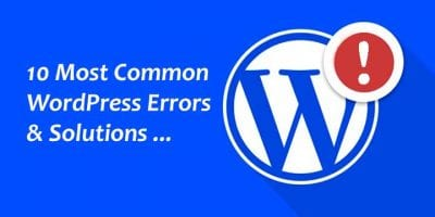 Common-WordPress-Errors-with-Solutions