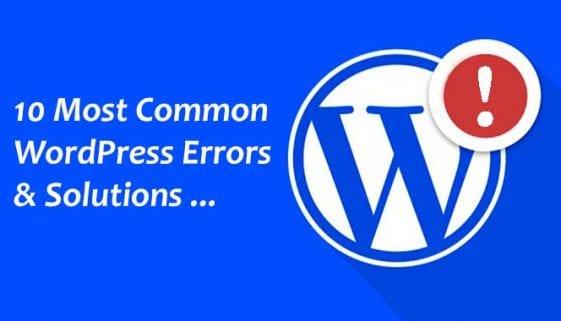 Common-WordPress-Errors-with-Solutions