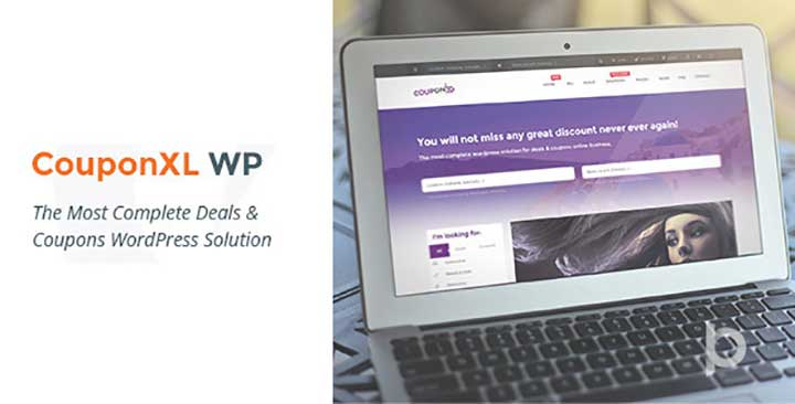 CouponXL Deals Template for WordPress