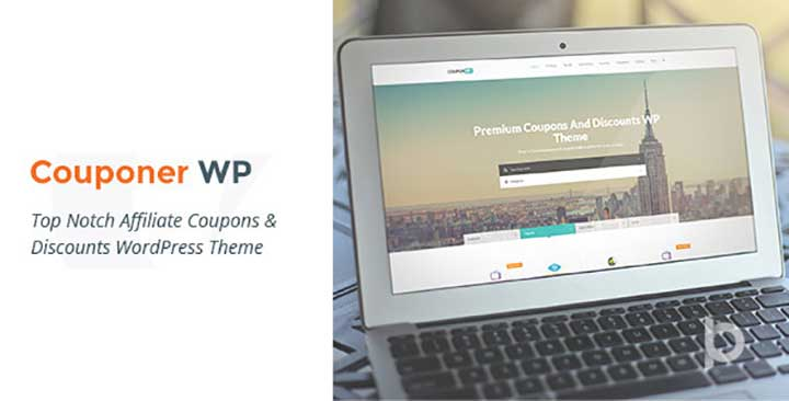 Couponer Theme for WordPress
