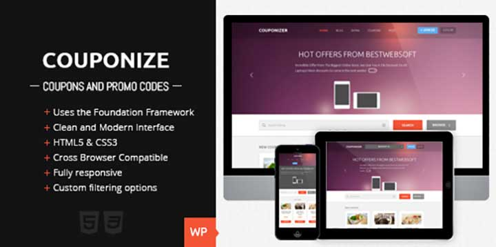 Couponize WP Coupon Template