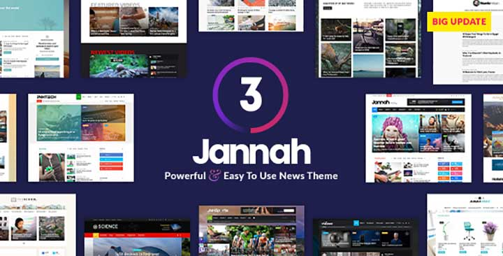 Jannah SEO Blog WordPress Theme