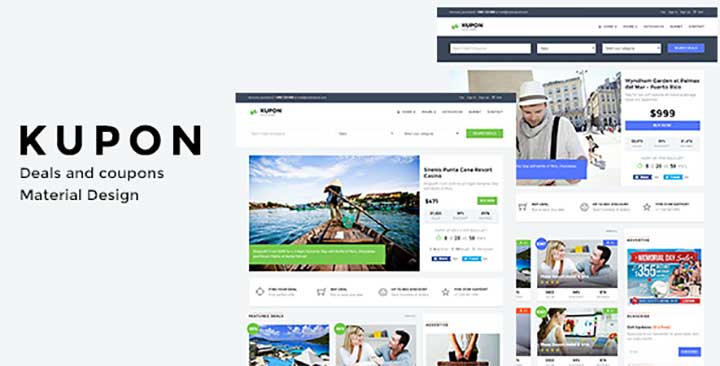 KUPON WordPress Daily Deal Themes