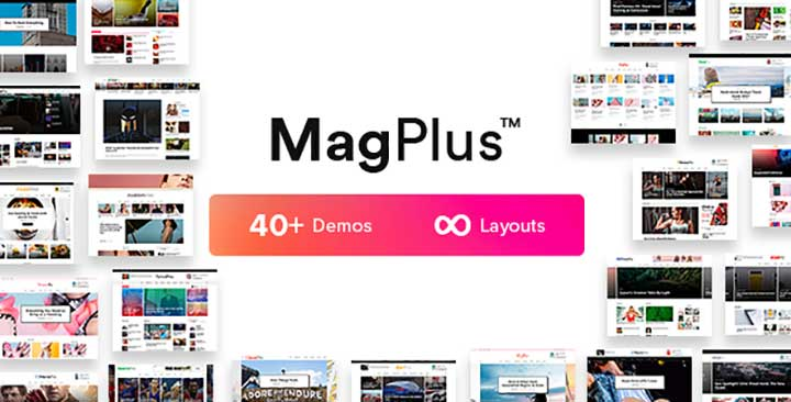 MagPlus Blog & Magazine Arabic WordPress theme