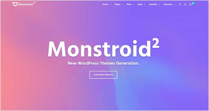 Monstroid WordPress Theme