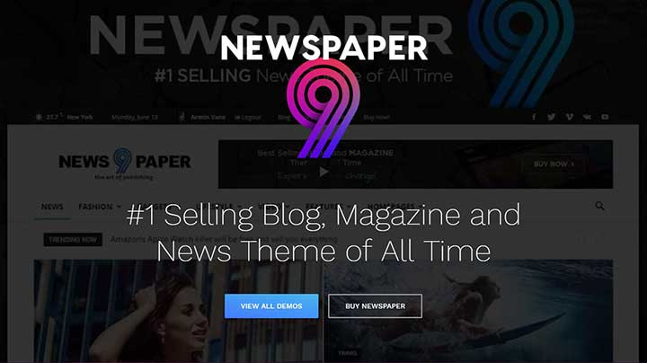 Newspaper AdSense Ready WordPress Theme