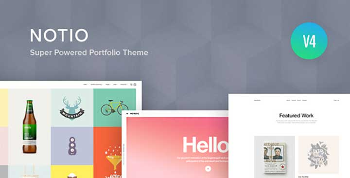 Notio WordPress Animation Themes