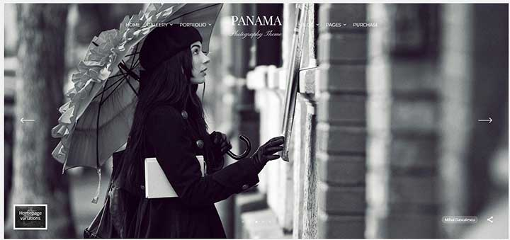 Panama WordPress Template