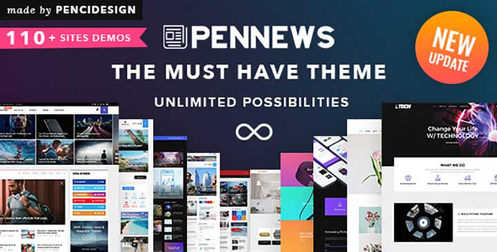 PenNews WordPress Arabic Theme