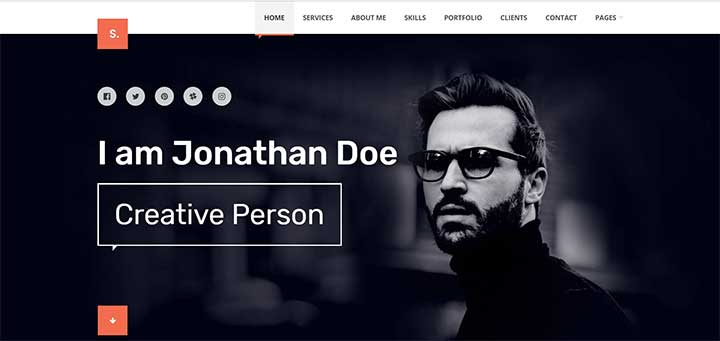 Selfer WordPress Dark Theme