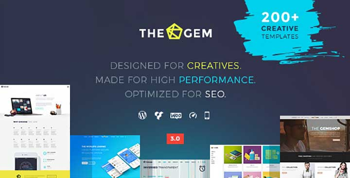 TheGem Creative Multi-Purpose High-Performance Hebrew WordPress Theme