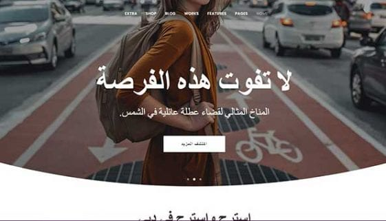 RTL Arabic WordPress Themes