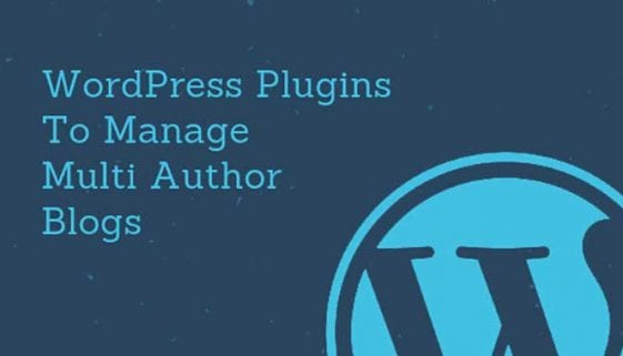 WordPress-Multi-Author-Plugins