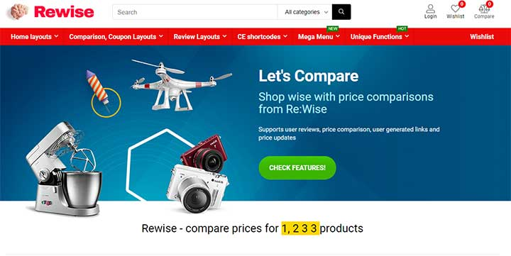 REHub marketplace WordPress theme