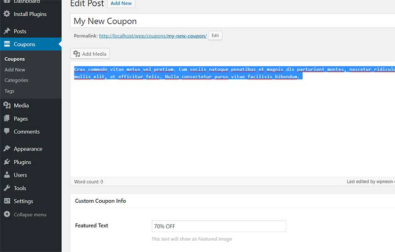 How to Add New Coupons in MyThemeShop