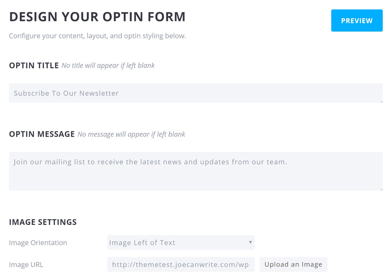 Bloom Review Design Form