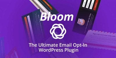 Bloom WordPress Plugin Review