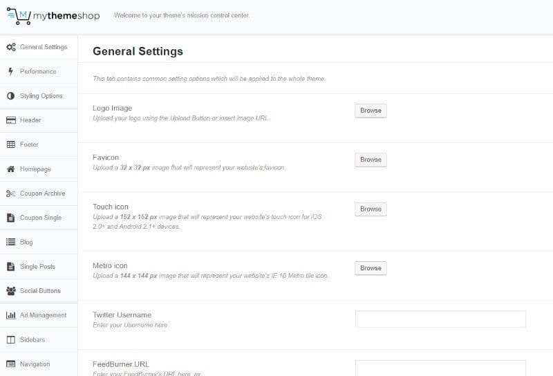 Coupon General Settings