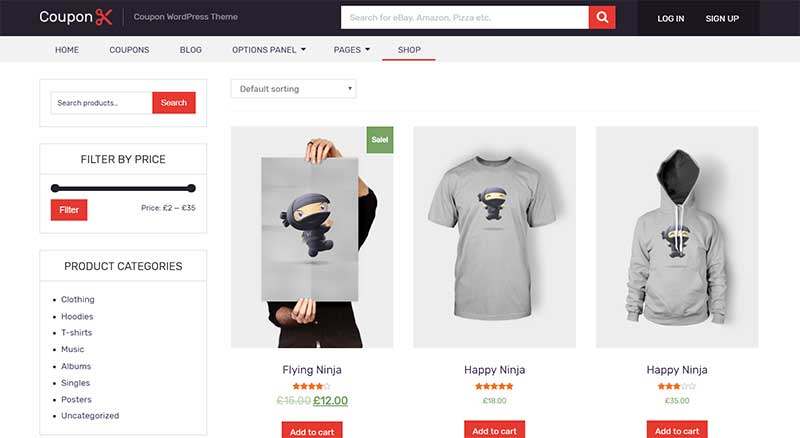 Coupon MyThemeShop WooCommerce