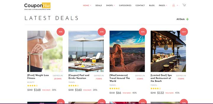 CouponHut WordPress Theme