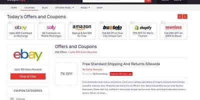Coupons Theme MyThemeShop Review