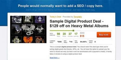Daily Deal WordPress Themes
