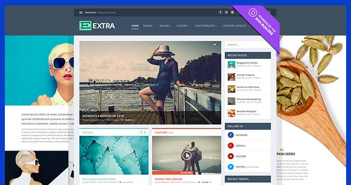 Extra WordPress ElegantThemes