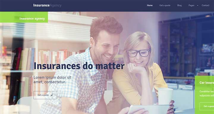 Insurance WP Theme