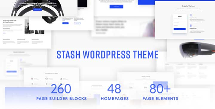 Stash WordPress insurance theme