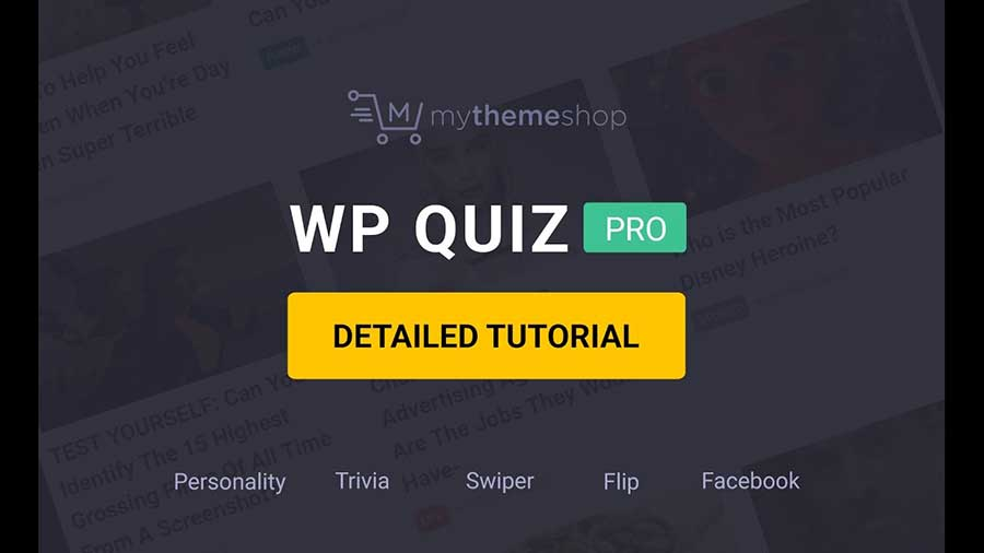 MyThemeShop WP Quiz Pro Plugin - Review and Download Link (2019)