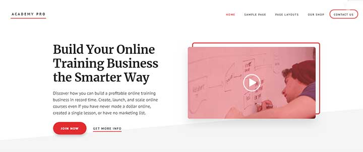 Academy Pro WordPress Theme for Writers