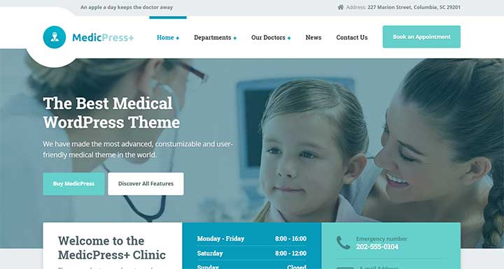 ConsultPress insurance WordPress themes
