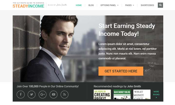 Steadyincome from MythemeShop