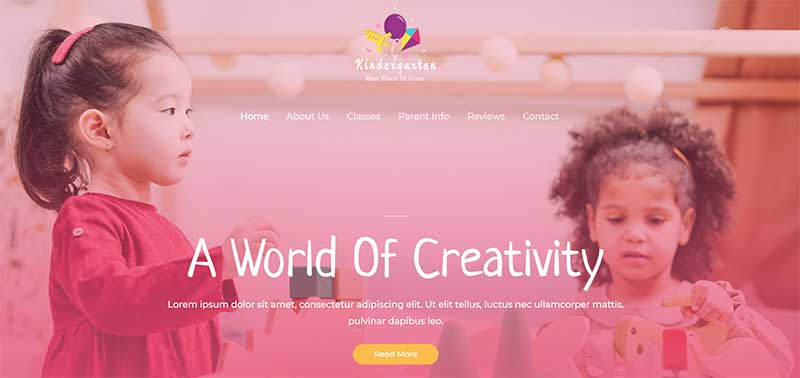 Astra Kindergarten WordPress Theme