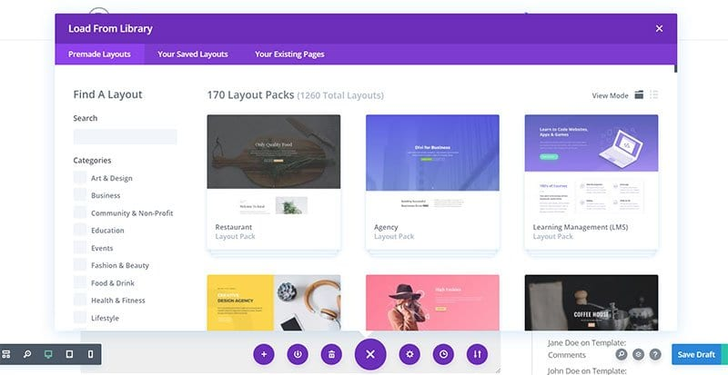 Divi-Prebuilt-Layouts