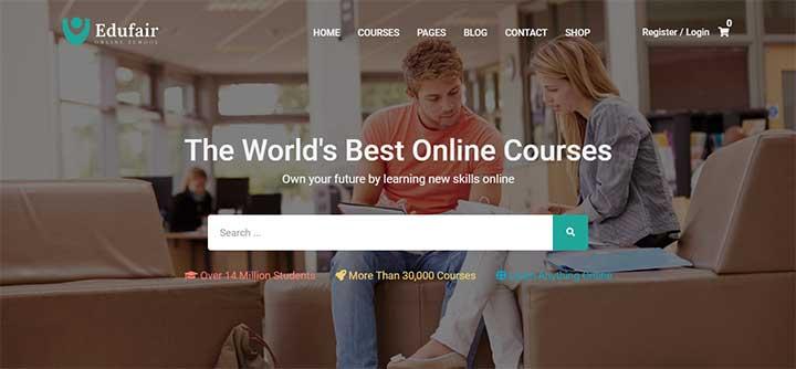 Edufair Multipurpose WordPress Theme For Education