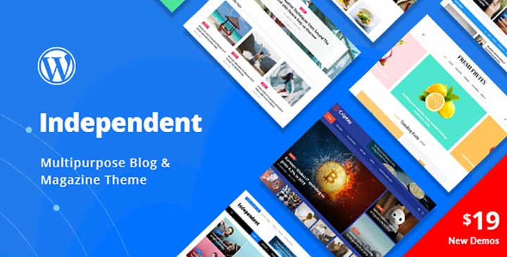 Independent Multipurpose Blog & Magazine Theme