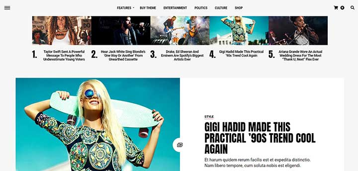 Jawn Modern WordPress News & Magazine Theme